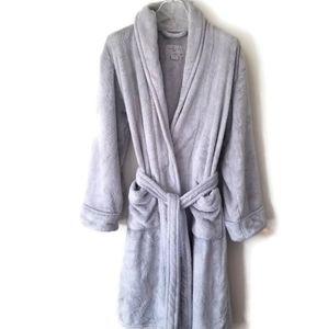 Daniel Buchler robe gray plush sz Small
